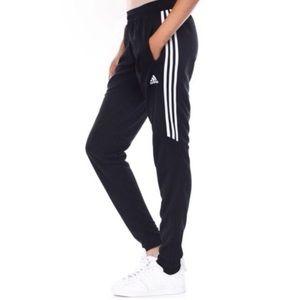 Adidas Black Striped Jogger Training Pants Soccer